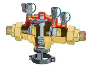 Disconnecteur BA à zone de pression réduite contrôlable